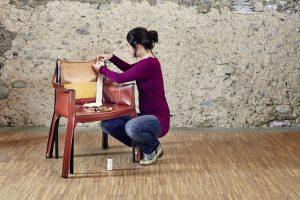 Renovierung eines Cessina - Stuhls