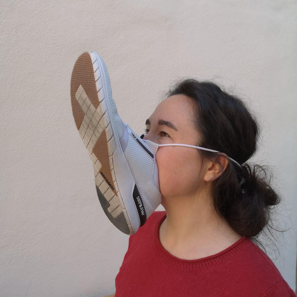 Jetzt stellen wir auch Gesichtsmasken her.